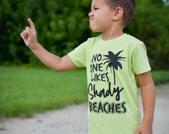 SHADY BEACHES shirt (multiple sizes)