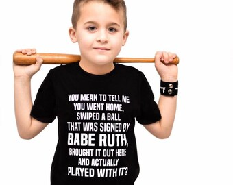 BABE RUTH shirt