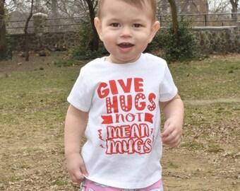 GIVE HUGS shirt