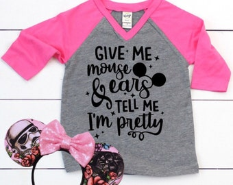 MOUSE EARS raglan