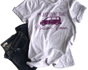 MINIVAN womens shirt