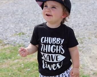 CHUBBY THIGHS shirt tee
