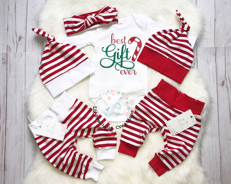 27a586638 Best gift ever baby girl christmas outfit newborn christmas | Etsy