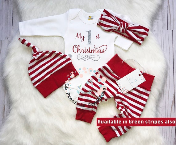 My First Christmas Vest Christmas Baby Vests Personalised 1st Christmas Vest Christmas Baby Vest My 1st Christmas Baby Girl