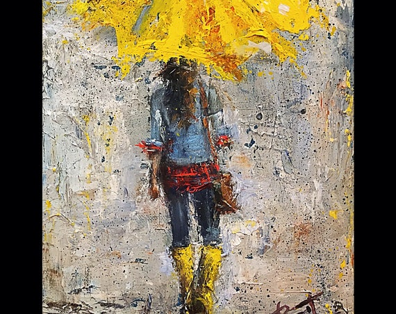 Peace in Christ Umbrella Girl Prints - Various Sizes