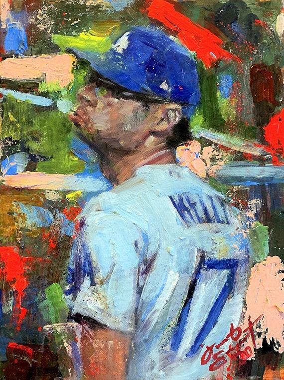 """Joe Kelly"" - 12""x9"" - Original Painting on Panel by Jacob Secrest"