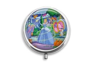 Cinderella Pill Box, Princess Pill Case, Pill Container, Mints Container, Trinkets Box, Jewelry Box