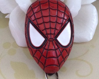 Spider-Man Retractable ID Badge Reel, Nurse Badge Reel