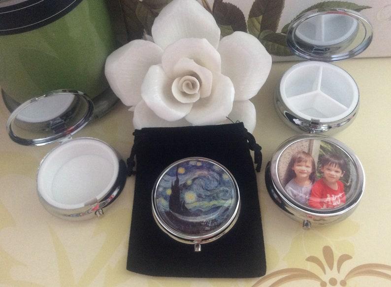 Princess Pill Case Jewelry Box Trinkets Box Mints Container Pill Container Cinderella Pill Box