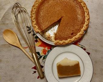 Pumpkin Pie Soap **LIMITED RELEASE** Small Batch Seasonal Bar Soap