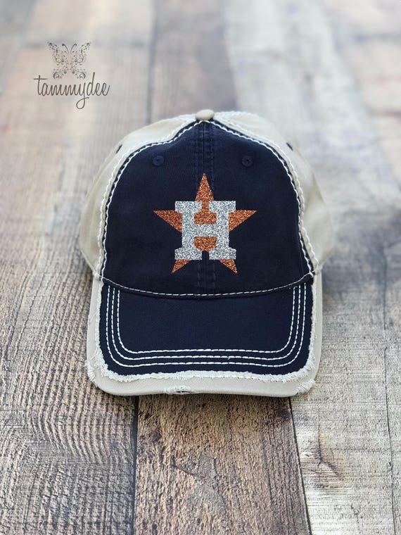 Houston Astros Hat Astros Baseball Cap Astros Houston  34da47d96db