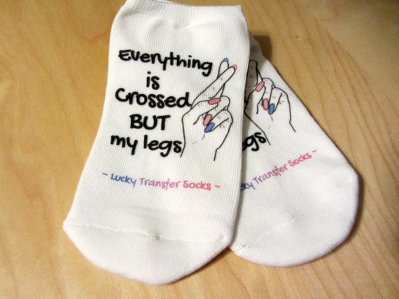 IVF Socks Infertility Unisex Trying To Concieve Gift Present PERSONALISED Gifts