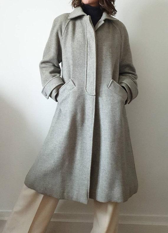 CourR-S Paris couture coat future grey mottled vin