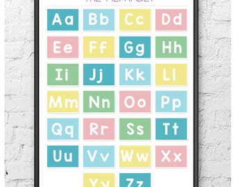 The Alphabet Poster (Printable/Digital Download)