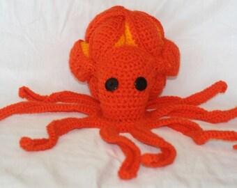 Jolly Octopus Flashy - amish made in crochet ball