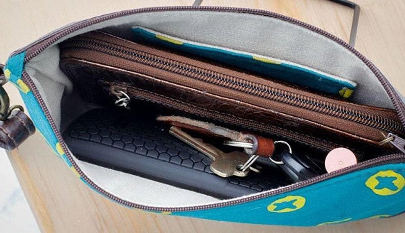 Handbag Butterfly Clutch Summer Purse Wallet Blue Monarch Purse