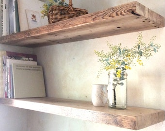 check out 7f801 b075d Reclaimed wood Shelves Whitewashed limewash Scandi Recycled ...