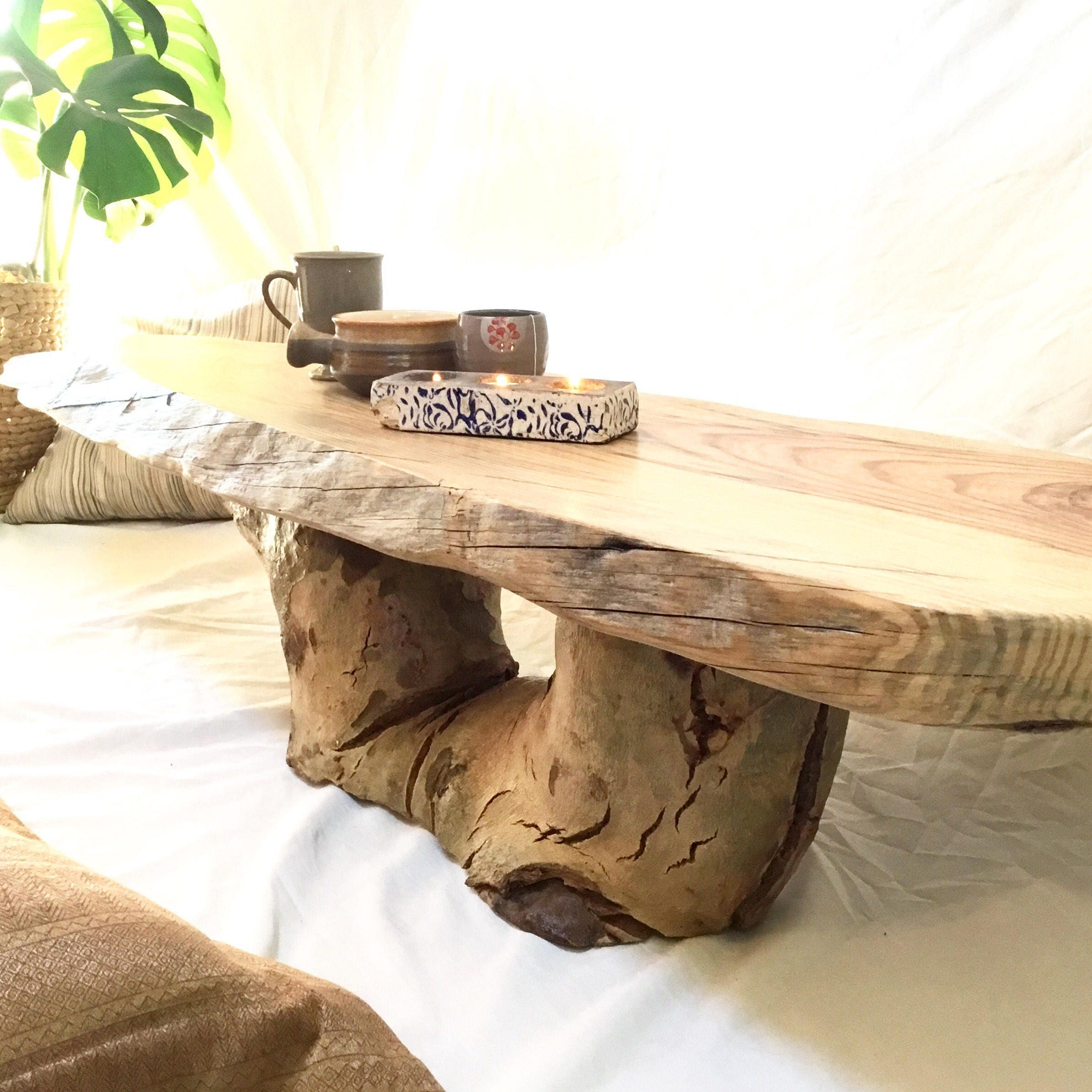 Coffee Table Reclaimed Wood Rustic Furniture Perth Wooden Live Etsy