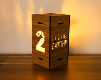 Bamboo Candle Numbers