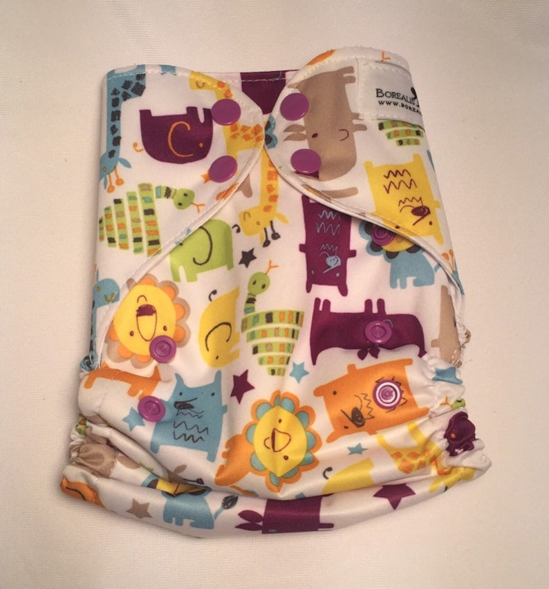 Cloth diaper cover wipeable cloth diaper cover one size image 0