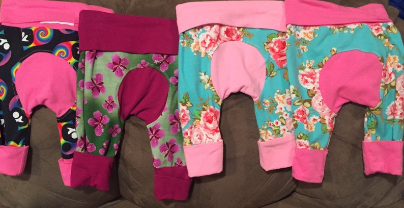 FLASH SALE Maxaloones pink theme Borealis Britches baby image 0