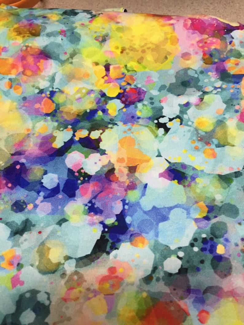 Confetti glass cotton Lycra FAT HALF image 0