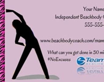 Beachbody marketing etsy beachbody business card printed printed beachbody card beachbody 21 day challenge card colourmoves