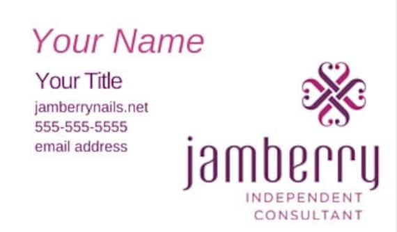 Jamberry nails business card jamberry printed business card jamberry nails business card jamberry printed business card jambery business cards jamberry reheart Images
