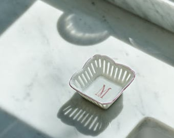 Initial Ring Dish - Lincoln Park