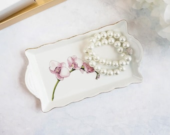 Scalloped Tray - Orchid