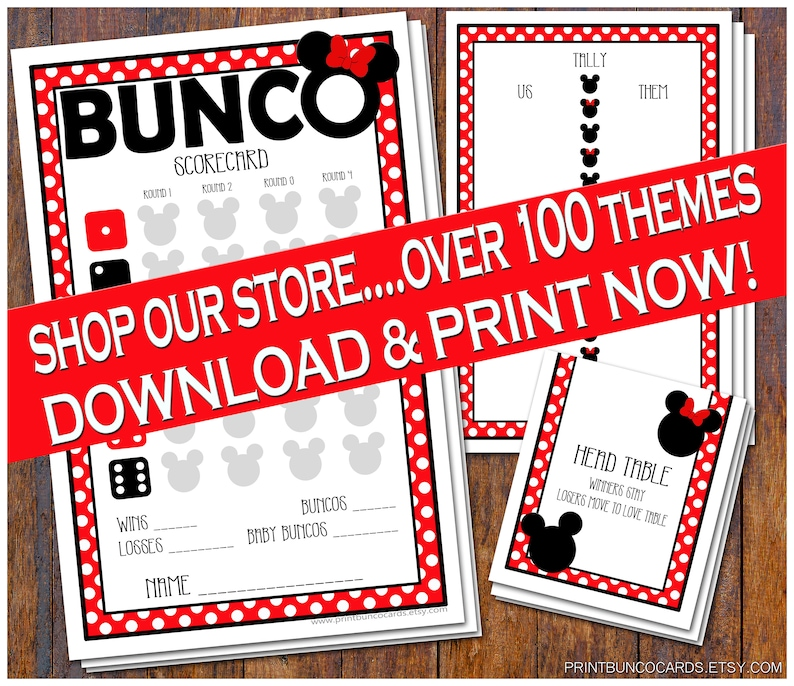 picture about Free Printable Bunco Table Tally Sheets identify Printable Disney Themed Bunco Preset, Thorough Bunco Fixed, Bunco Card, Bunco Tally Sheet, Bunco Desk Playing cards Bunko Absolutely free Small Modifications