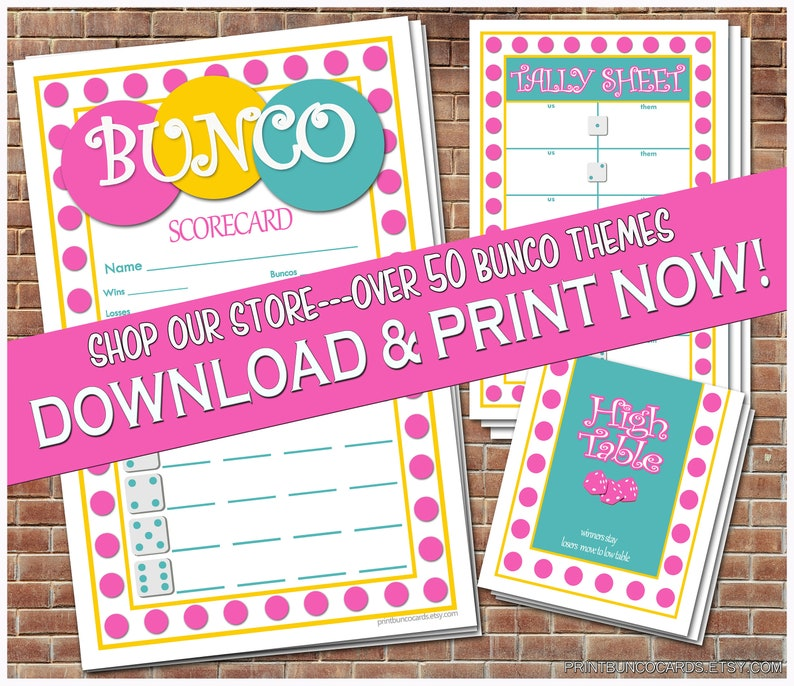 picture regarding Free Printable Bunco Score Sheets named Printable Bunco Playing cards Bunko Scorecards Ranking Sheets Immediate Down load Totally free Modifications*