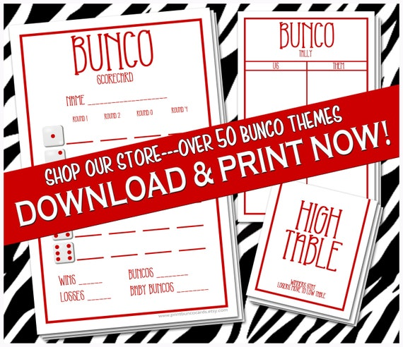 photograph regarding Free Printable Bunco Table Tally Sheets titled In depth Printable Bunco Playing cards Bunko Scorecards Ranking Sheets Fast Down load Customized Printables Cost-free Very little Modifications