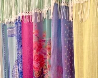 High Quality Bohemian Closet Curtain Gypsy Patchwork
