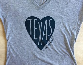 Texas In My Heart T-Shirt