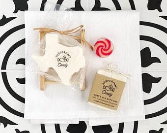 Peppermint Candy Goats Milk Soap - Limited Holiday Edition