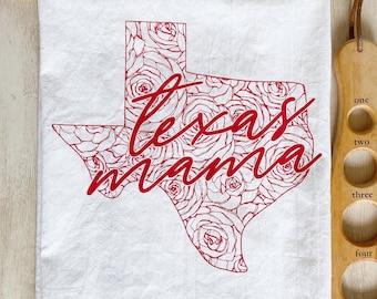 Texas Mama Flour Sack Towel