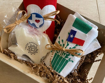 Texas Welcome or Thank You Gift Basket