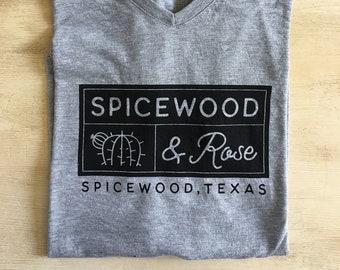 Spicewood & Rose Logo T-Shirt