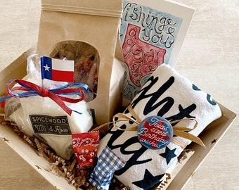 Texas Birthday Gift Basket