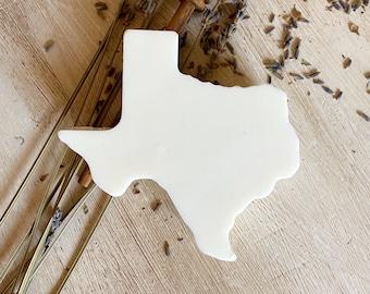 Texas Shaped Goat's Milk Bath Bar