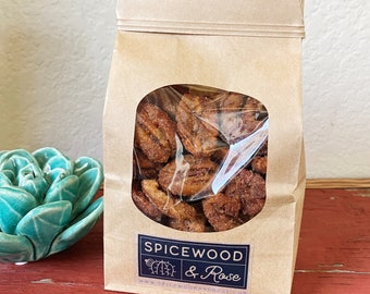 Texas Candied Cinnamon Pecans