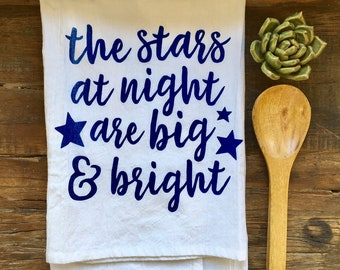 Stars at Night Flour Sack Towel