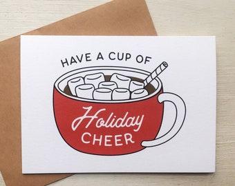 Hot Chocolate Mug Greeting Card