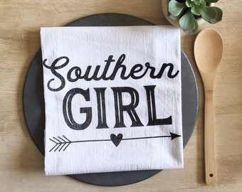 Southern Girl Flour Sack Towel