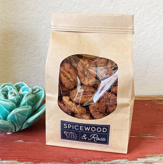 Texas Candied Cinnamon Pecans