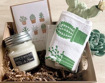 Cactus Love Gift Basket