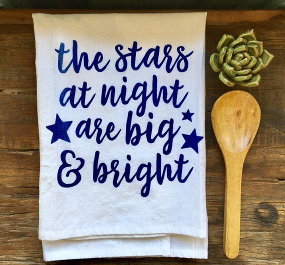 Stars at Night Flour Sack Towel