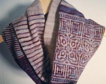 PDF Knitting Pattern - Circadian Cowl