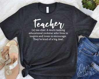 fbc8439bf35 Teacher noun tshirt